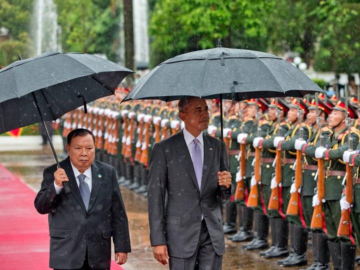 Lần đầu tiên thăm Lào, Obama cam kết chi 2.000 tỉ đồng - 1