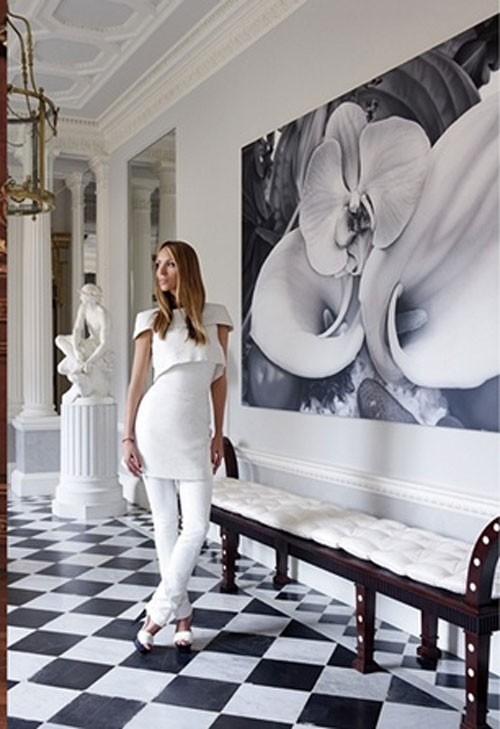 Vợ tỷ phú ngân hàng Nga vừa sexy vừa sành thời trang - 14