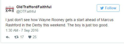 """Trước derby: Fan MU đòi """"phế"""" Rooney, dùng Rashford - 5"""