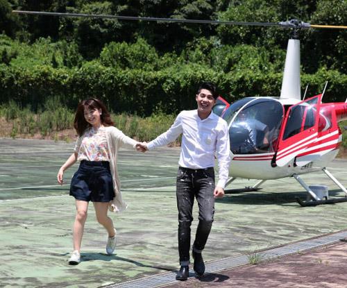 Noo Phước Thịnh hẹn hò bạn gái Nhật bằng trực thăng - 1