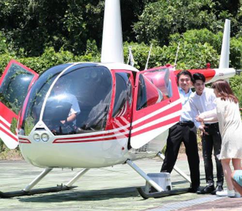 Noo Phước Thịnh hẹn hò bạn gái Nhật bằng trực thăng - 2