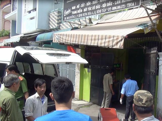 TPHCM: Người đàn ông tử vong, cổ tay bị quấn dây điện - 1