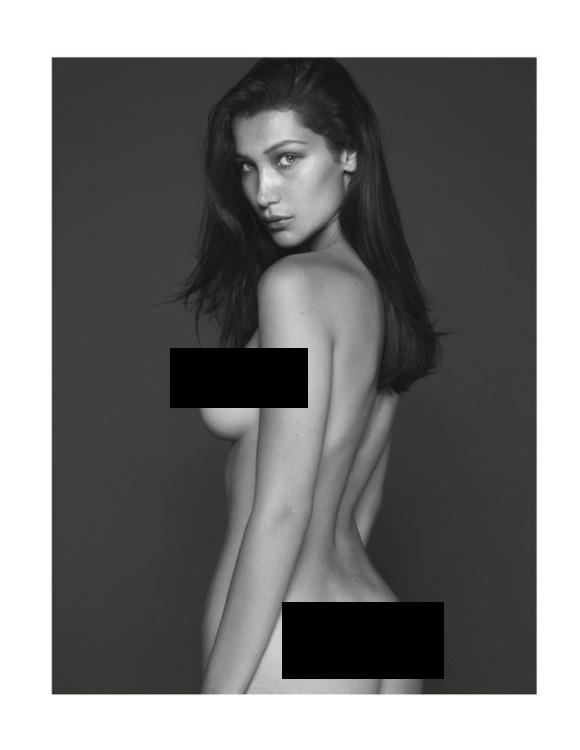 Bella Hadid nóng bỏng trên tạp chí Vogue - 6