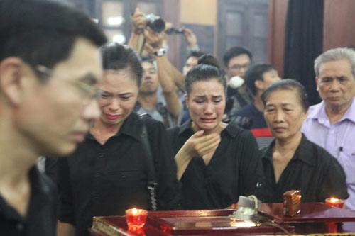 Vợ con khóc lặng trong lễ viếng nghệ sĩ Hán Văn Tình - 6