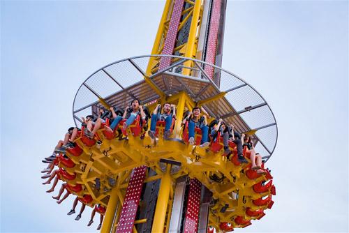 Cận cảnh Tháp rơi tự do cao nhất Việt Nam tại Asia Park - 3