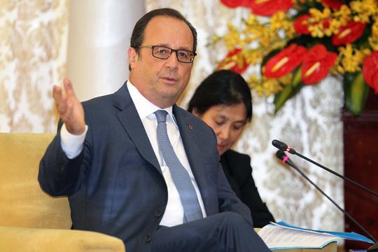 Lãnh đạo TP HCM tiếp tổng thống Pháp - 2