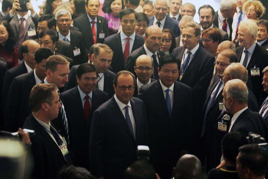Lãnh đạo TP HCM tiếp tổng thống Pháp - 6