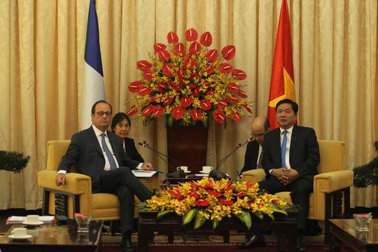 Lãnh đạo TP HCM tiếp tổng thống Pháp - 1