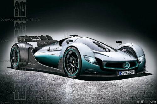 Siêu xe bí mật Mercedes-AMG R50 sắp trình làng - 1