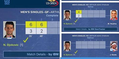 """Djokovic 3 lần gặp may: Có một """"Tư Mã Ý"""" ở US Open - 3"""