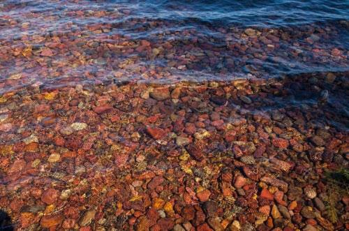 Hồ nước có đá cuội đẹp như tranh ai tới cũng ngất ngây - 6