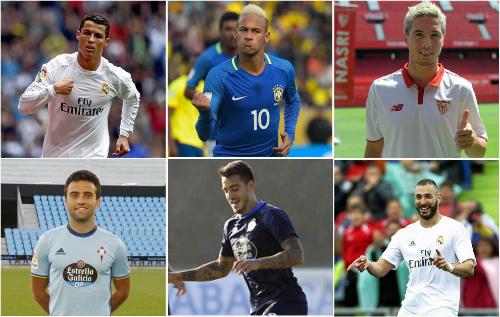 Vòng 3 Liga: Ronaldo, Neymar tái xuất & dàn tân binh - 1