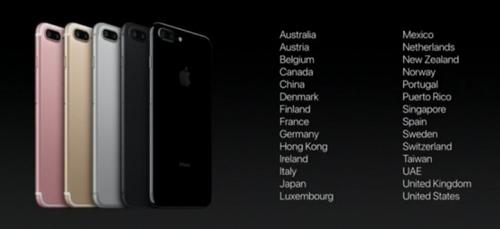 """iPhone 7 và iPhone 7 Plus trình làng: Hàng """"khủng"""", giá rẻ bất ngờ - 9"""