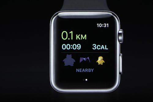 Xem Pokémon GO chạy trên đồng hồ thông minh của Apple - 2