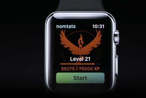 Xem Pokémon GO chạy trên đồng hồ thông minh của Apple - 3