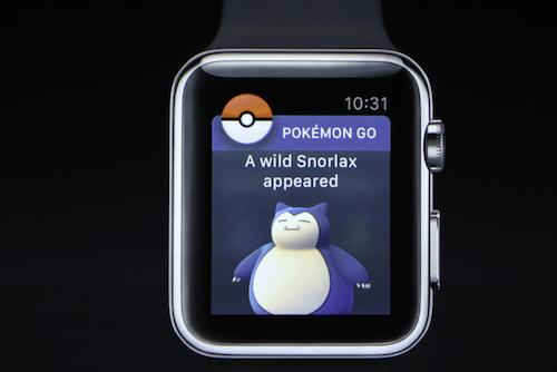 Xem Pokémon GO chạy trên đồng hồ thông minh của Apple - 4