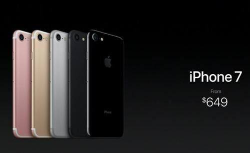 """iPhone 7 và iPhone 7 Plus trình làng: Hàng """"khủng"""", giá rẻ bất ngờ - 7"""