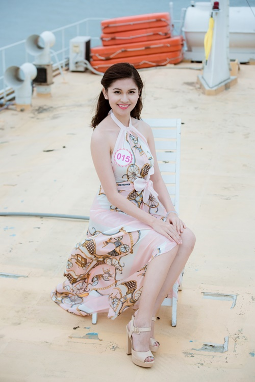 Á hậu Thùy Dung hé lộ sự cố bất ngờ ở Hoa hậu VN 2016 - 4
