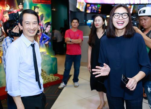 Ngô Thanh Vân giản dị ủng hộ vợ chồng Trần Anh Hùng - 1