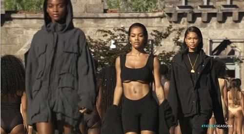 Dàn người mẫu mặc thiếu vải phơi thân dưới nắng gắt - 13