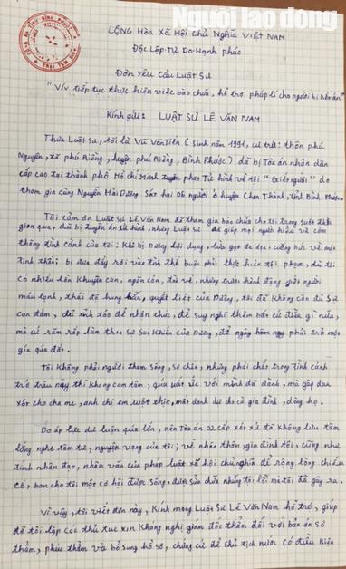 Tử tù Vũ Văn Tiến tiếp tục xin tha chết - 2