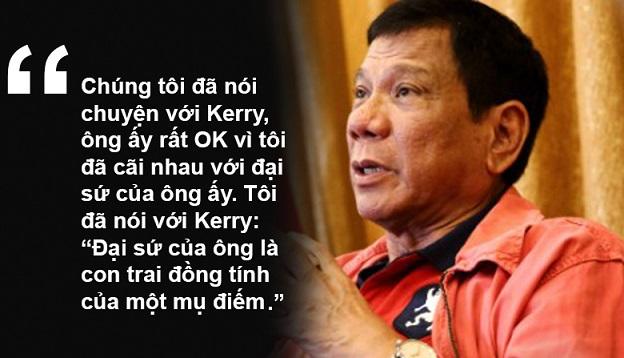 """11 phát ngôn """"chợ búa"""" gây sốc của Tổng thống Philippines - 3"""
