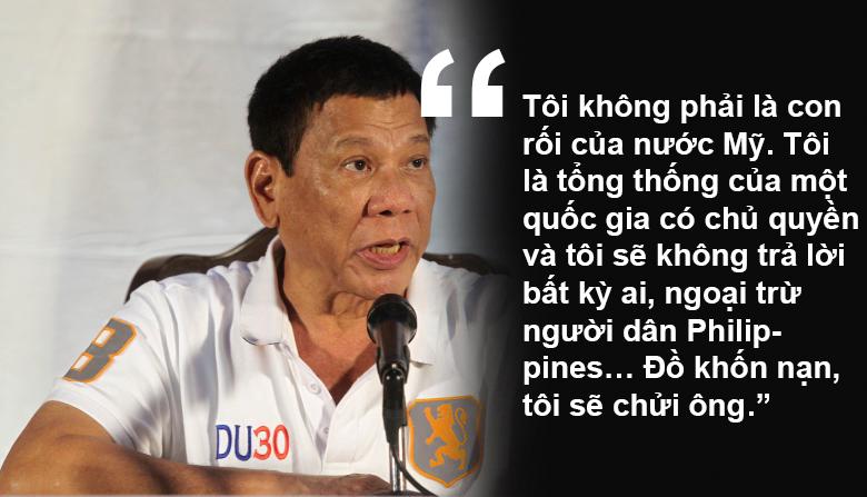 """11 phát ngôn """"chợ búa"""" gây sốc của Tổng thống Philippines - 2"""