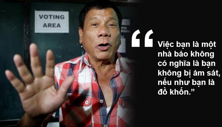 """11 phát ngôn """"chợ búa"""" gây sốc của Tổng thống Philippines - 5"""