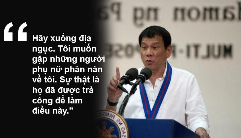 """11 phát ngôn """"chợ búa"""" gây sốc của Tổng thống Philippines - 9"""