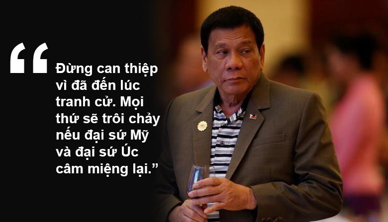 """11 phát ngôn """"chợ búa"""" gây sốc của Tổng thống Philippines - 8"""