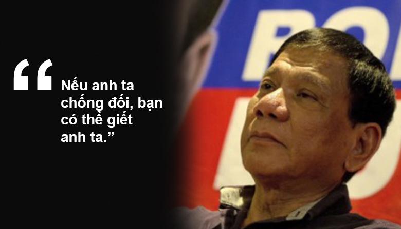 """11 phát ngôn """"chợ búa"""" gây sốc của Tổng thống Philippines - 4"""