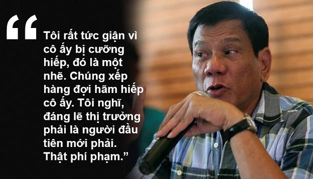 """11 phát ngôn """"chợ búa"""" gây sốc của Tổng thống Philippines - 7"""