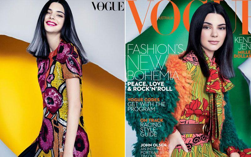 Mặc dư luận, Kendall Jenner tiếp tục lên bìa Vogue - 5