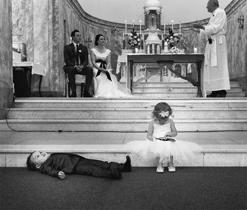 Đám cưới - nơi diễn ra những hình ảnh cực kỳ hài hước - 5