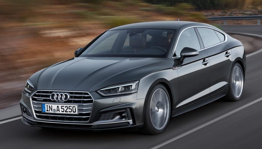 Audi A5, S5 Sportback, A5 Sportback g-tron mới lộ diện - 1