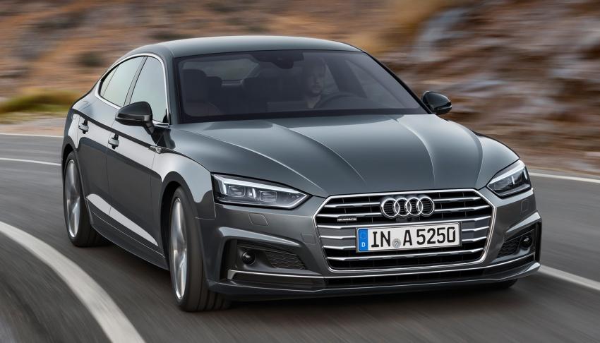 Audi A5, S5 Sportback, A5 Sportback g-tron mới lộ diện - 2