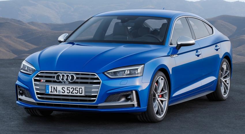 Audi A5, S5 Sportback, A5 Sportback g-tron mới lộ diện - 3