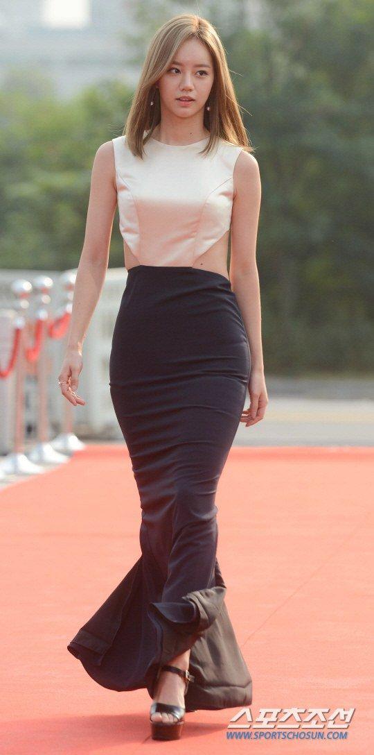 Nhã Phương nổi bật với áo dài trên thảm đỏ xứ Kim chi - 8