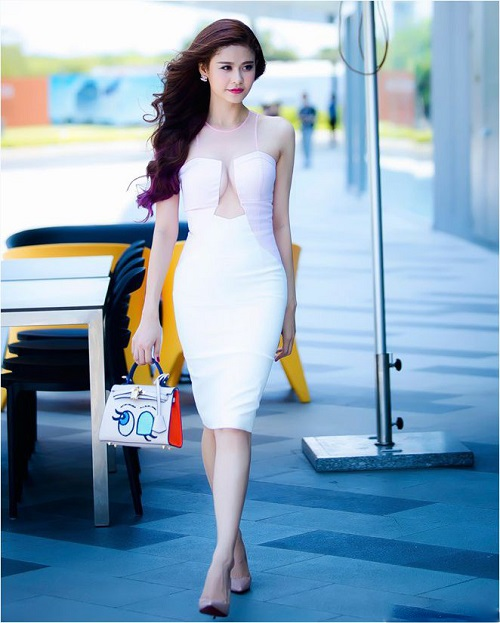 Trương Quỳnh Anh sexy, hở bạo sau khi sinh quý tử - 6