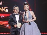 Tóc Tiên hở bạo trên sóng truyền hình