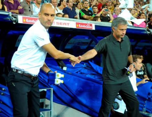 Mourinho thủ sẵn rượu để mời Guardiola sau derby - 1