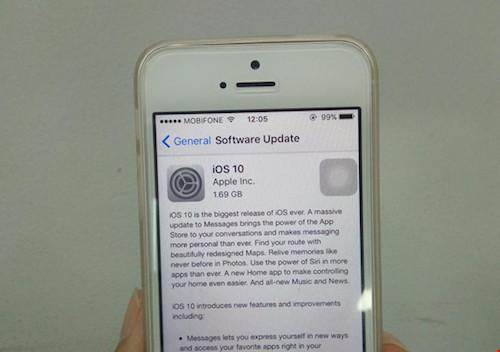 Apple phát hành phiên bản iOS 10 cho iPhone - 1