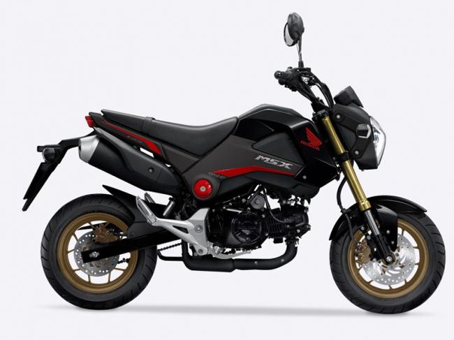 Honda MSX125 sở hữu động cơ 125cc với giá bán khoảng trên 60 triệu đồng.