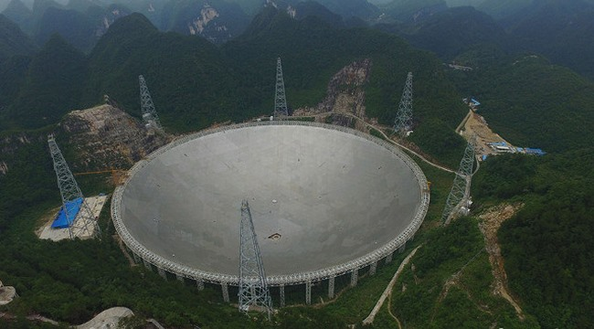 Kính viễn vọng ở TQ sắp săn người ngoài hành tinh - 3