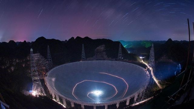 Kính viễn vọng ở TQ sắp săn người ngoài hành tinh - 1
