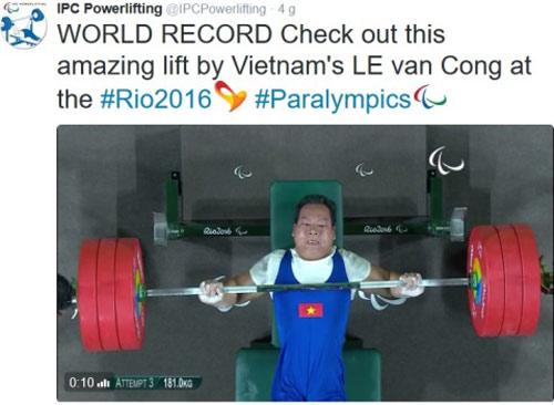 Báo chí quốc tế nể phục nhà vô địch Lê Văn Công - 2