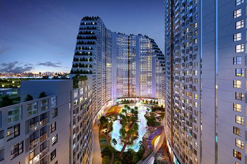Ngẩn ngơ trước vẻ đẹp của Tân HHVN 2016 trong căn hộ cao cấp River City - 8