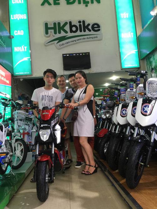 Giải mã sức hút xe điện HKbike khiến mưa phụ huynh cũng đi mua - 7