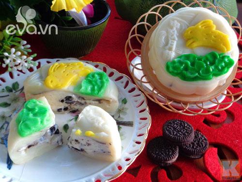 Bánh Trung thu tuyết nhân kem oreo mát lạnh dẻo thơm - 14