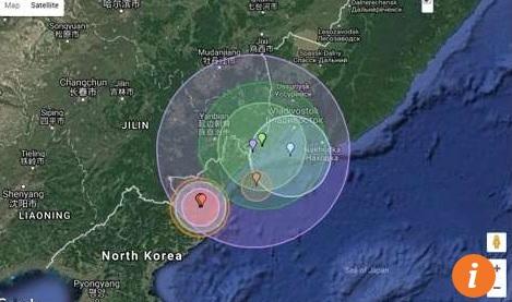 Triều Tiên thử hạt nhân, TQ vội đo phóng xạ sát biên giới - 1
